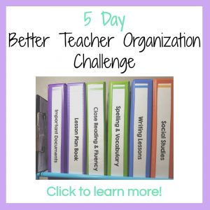 Better Teacher Organization Challenge