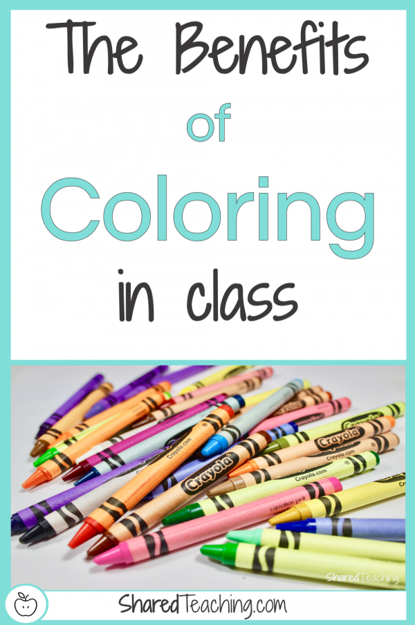 The benefits of students coloring in class are numerous. Grab some ideas to be better prepared to tell your administration why it's important to allow students to color.