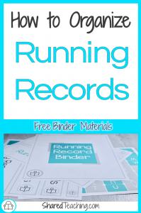 Running Records Organization