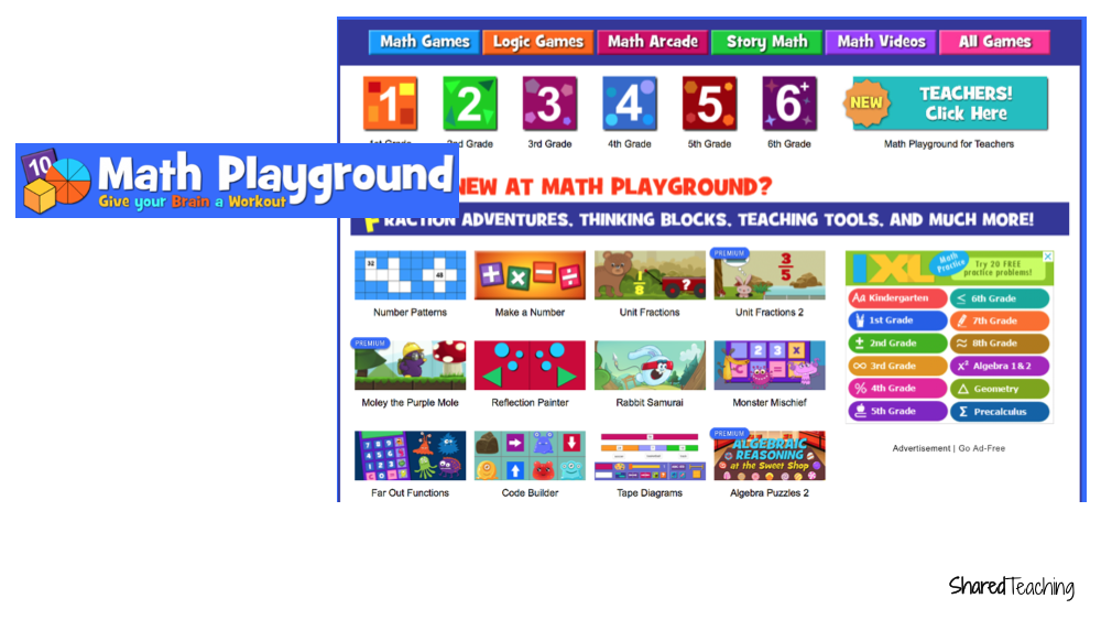 Best Free Math Websites for Parents | Here are 6 of the best free math websites for parents recommended by a seasoned teacher. Great for primary students and their parents to practice at home.