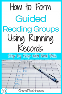 Form Guided Reading Groups Using Running Records