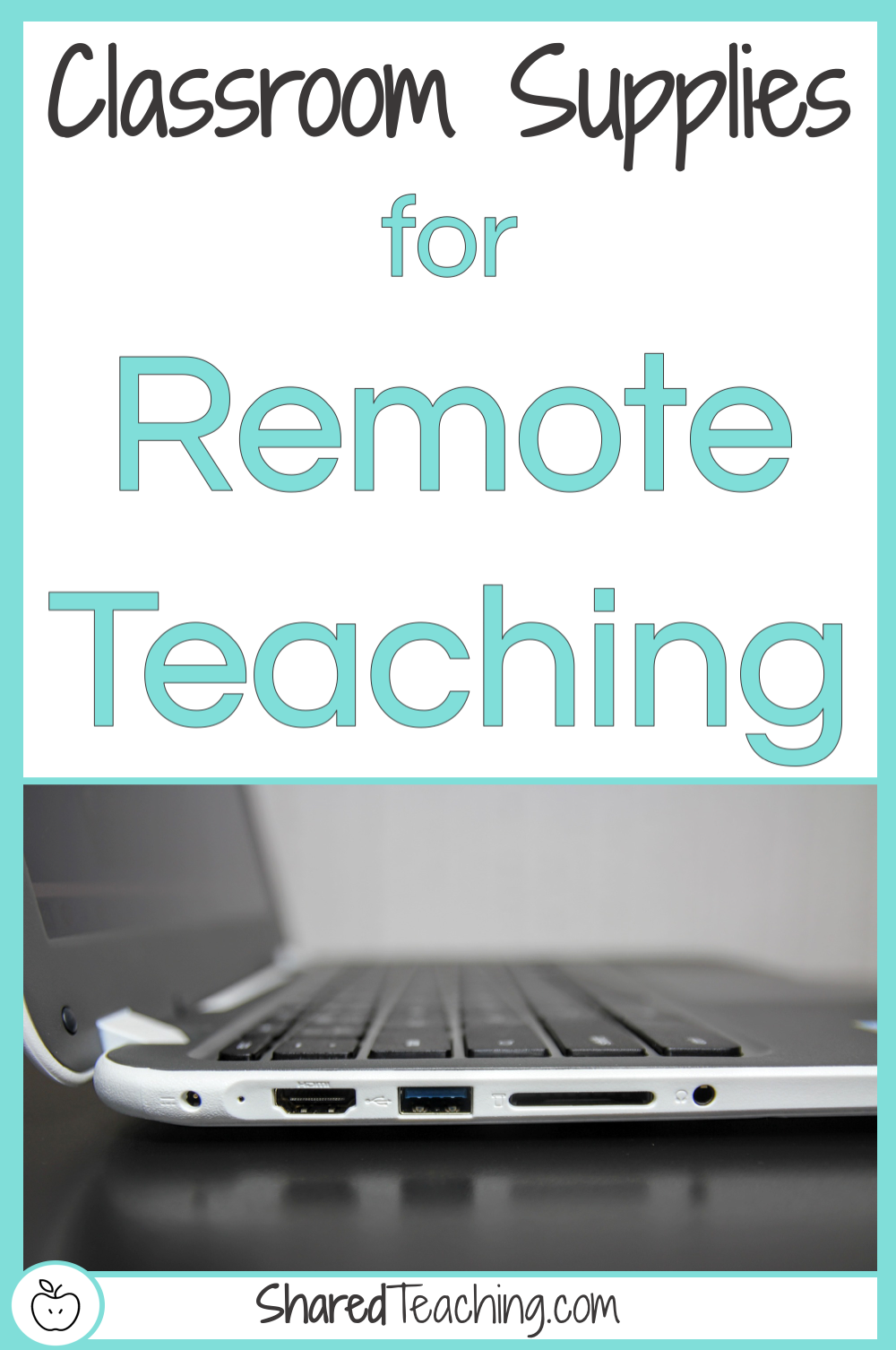Classroom Supplies for Remote Teaching | Need to grab some supplies from your classroom to start distance learning? Click here to find my top needed classroom supplies.