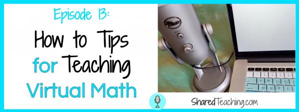 how to teach math virtually