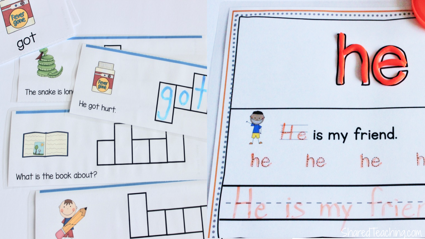 Teaching sight words in research-based ways using anchor sentences.
