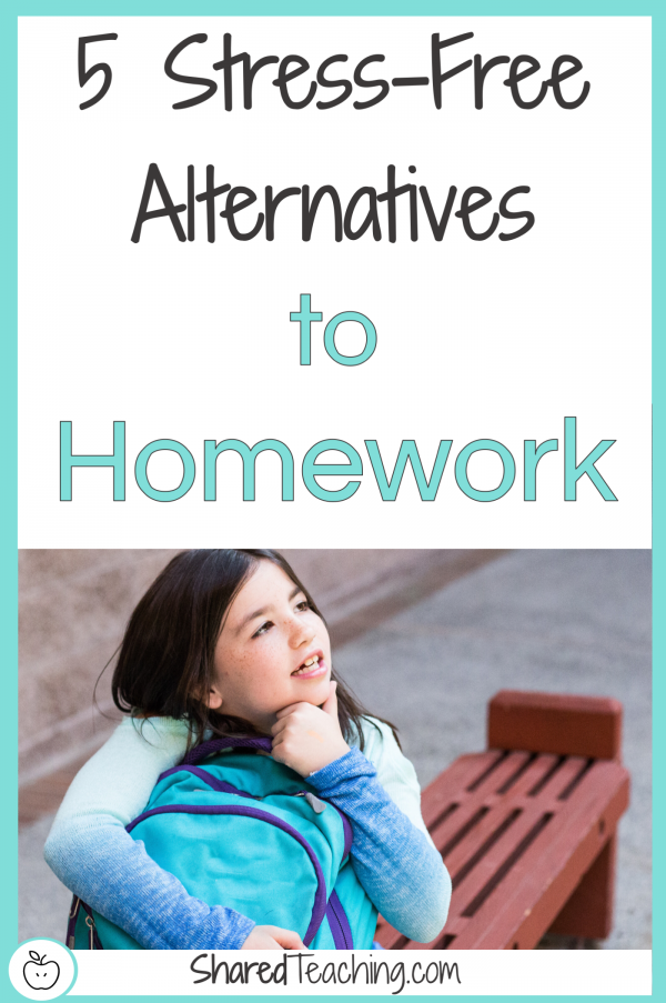5 stress-free alternatives to homework title